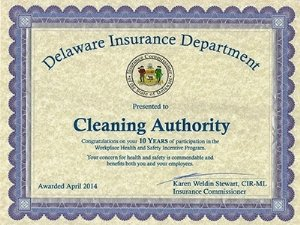 Delaware Insurance Department Cleaning Authority